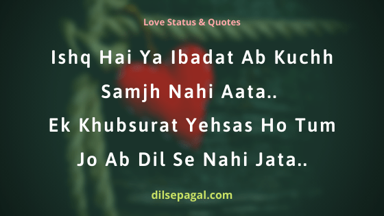 Love you quotes in hindi