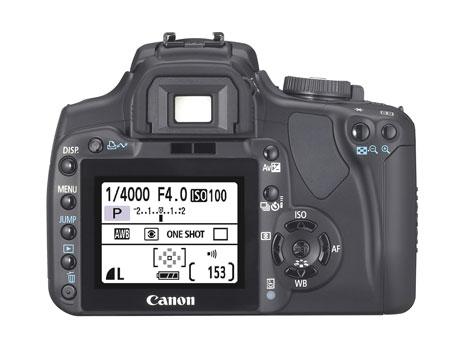 Canon 400D/Rebel Xti digital camera