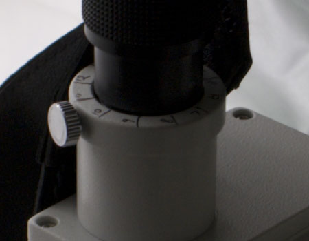Sony A100 digital camera anti-shake test