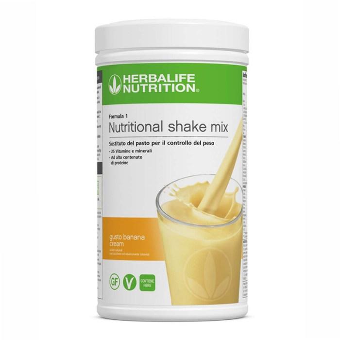 Herbalife Formula 1 gusto crema di banana