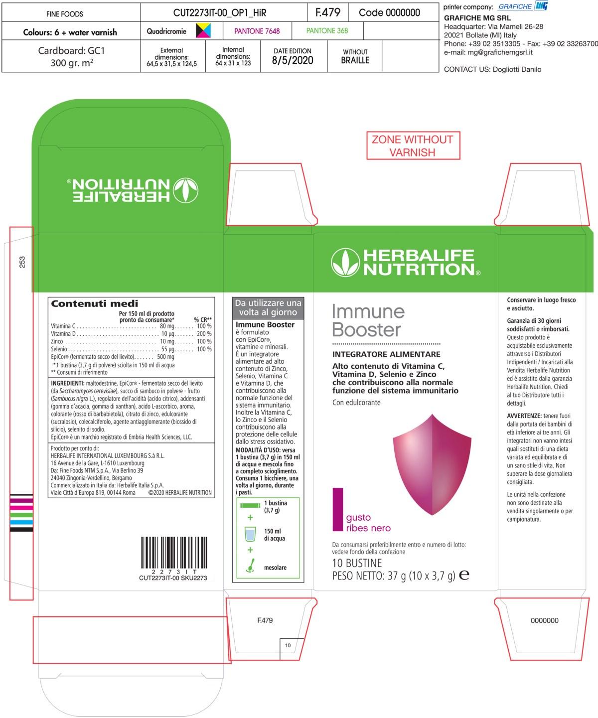 herbalife immune booster
