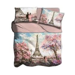 Lenzuola digitale I love sleeping Pink Paris