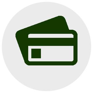 icona carta di credito acquisto sicuro