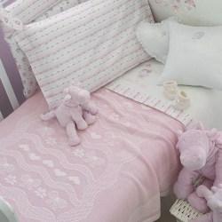 Copertina Blumarine culla Baby Ballerine Rosa
