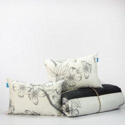 Trapunta in puro cotone stampato - Gray - Don algodon