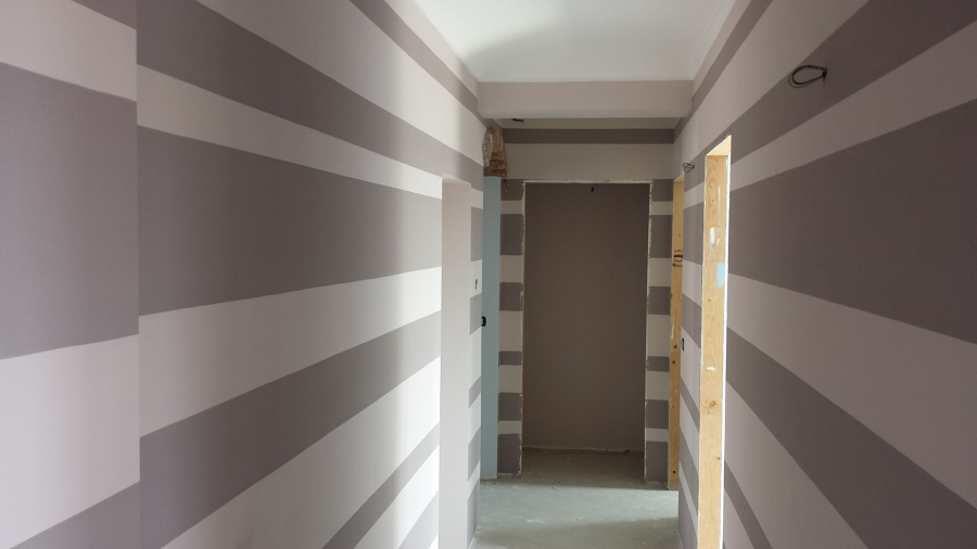 Arredare con le righe dimarcolor for Arredare corridoio stretto