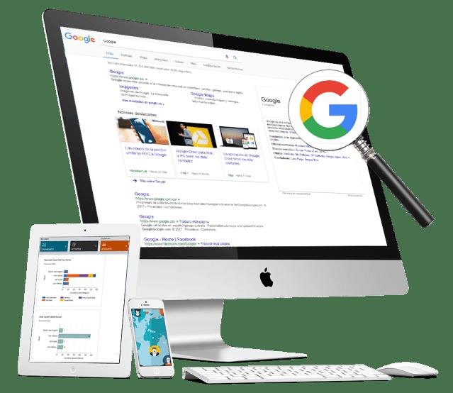 Empresa de diseño web y anuncios de pago