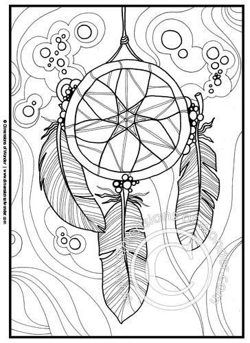 native american coloring pages {printable}  dimensions of