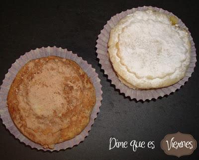 """""""TEA CAKES"""" de manzana y Crema Pastelera"""