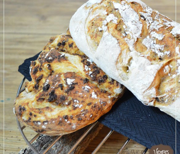 Pan de Chapata rustico aromatico