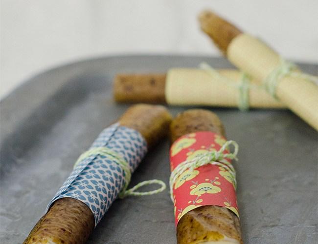Canelones de Kiwi rellenos de crema de natillas