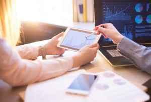 practical analysis, graphs on iPad