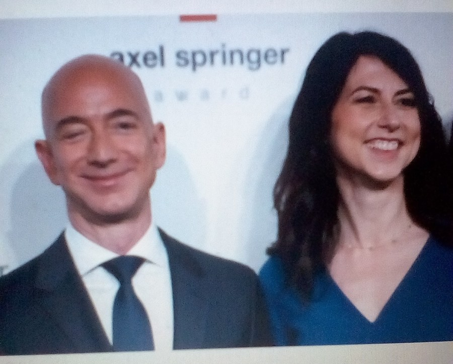 The World's richest man, Jeff Bezos, set to divorce from his novelist wife of 25 years, MacKenzie.