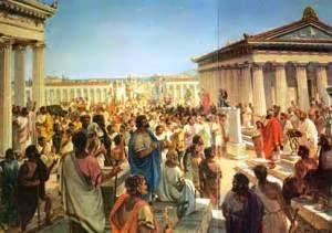 Η Εκκλησία του Δήμου ήταν η κύρια Δημοκρατική Συνέλευση στην αρχαία Αθήνα, και πραγματοποιούνταν στο λόφο της Πνύκας, στην Αγορά ή στο Θέατρο του Διονύσου. Η Συνέλευση ήταν ανοιχτή σε όλους τους άρρενες πολίτες (που είχαν πολιτικά δικαιώματα) με ηλικία μεγαλύτερη των 18 ετών