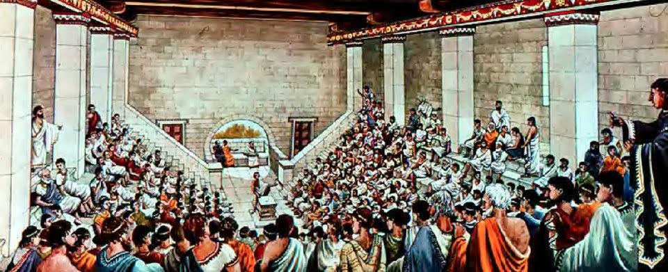 Αποτέλεσμα εικόνας για αρχαια αθηνα δημοκρατια