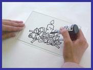 ディンプルアート・カラーの描き方
