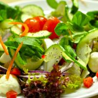 Swiss Basic Salad & Dressing