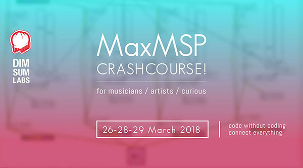 MaxMSP Crash Course