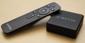 Android TV Box and Remote