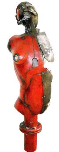 Escultura en papel maché 3