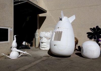 Esculturas porexpan 2