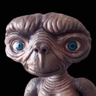Escultura porexpan personaje ET