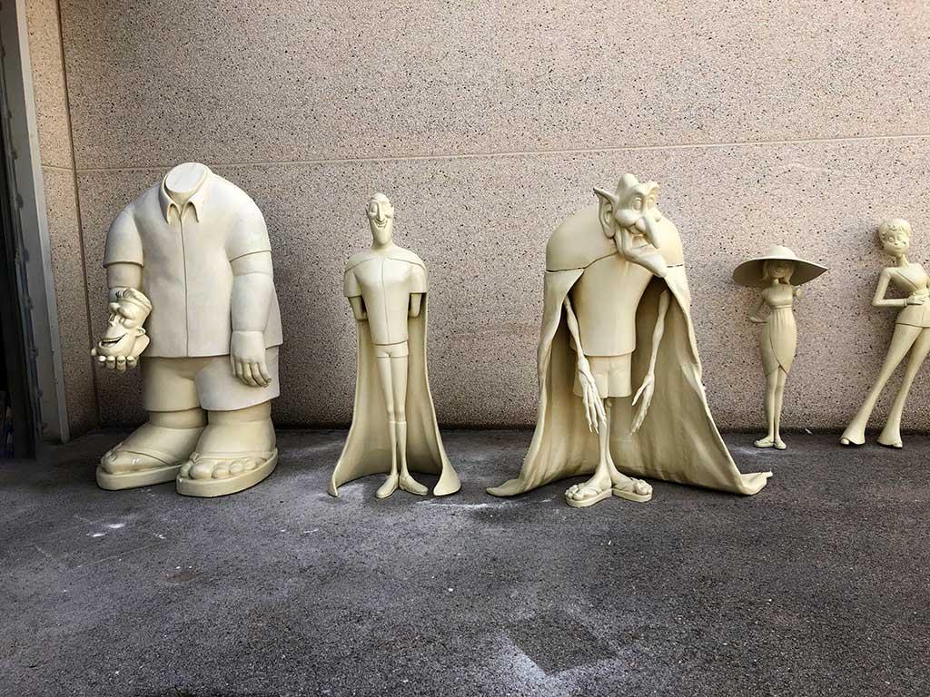Detalle de figuras Transilvania 3 terminadas