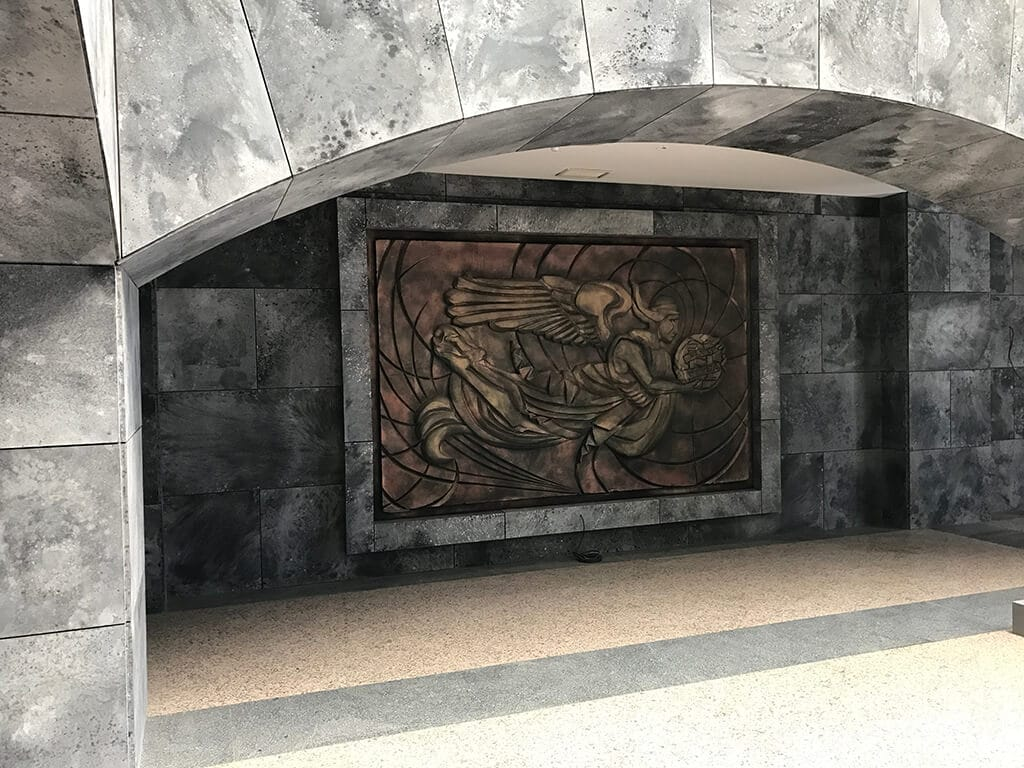 Mural La Casa de Papel temporada 1 y 2