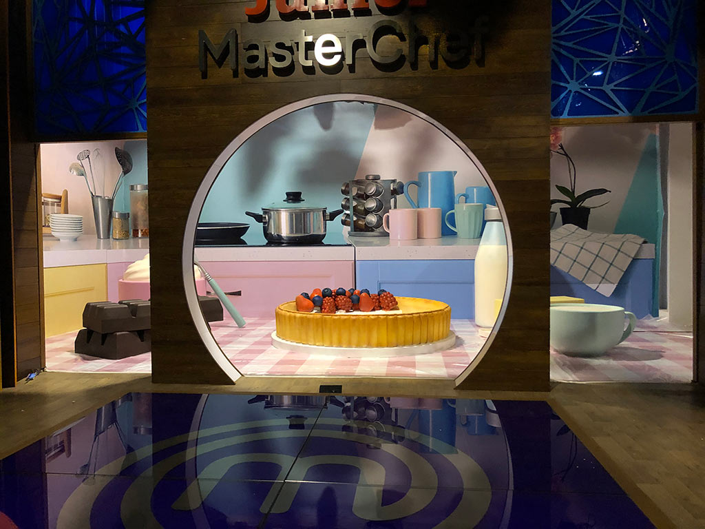 Decorado Master Chef Junior 7 cocina