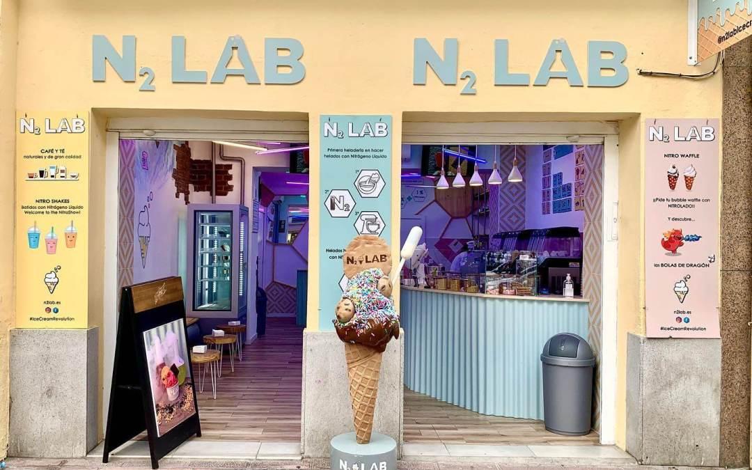 Fabricación de Helado Ficticio para N2 LAB