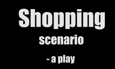 Shopping Scenario jump cuts