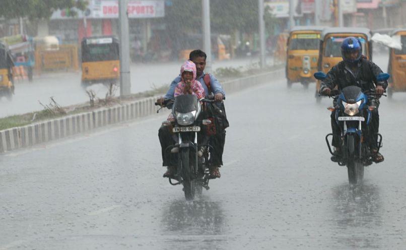 rain at chennai
