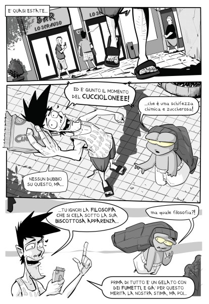 La Filosofia del Cucciolone dinaz.it blog a fumetti