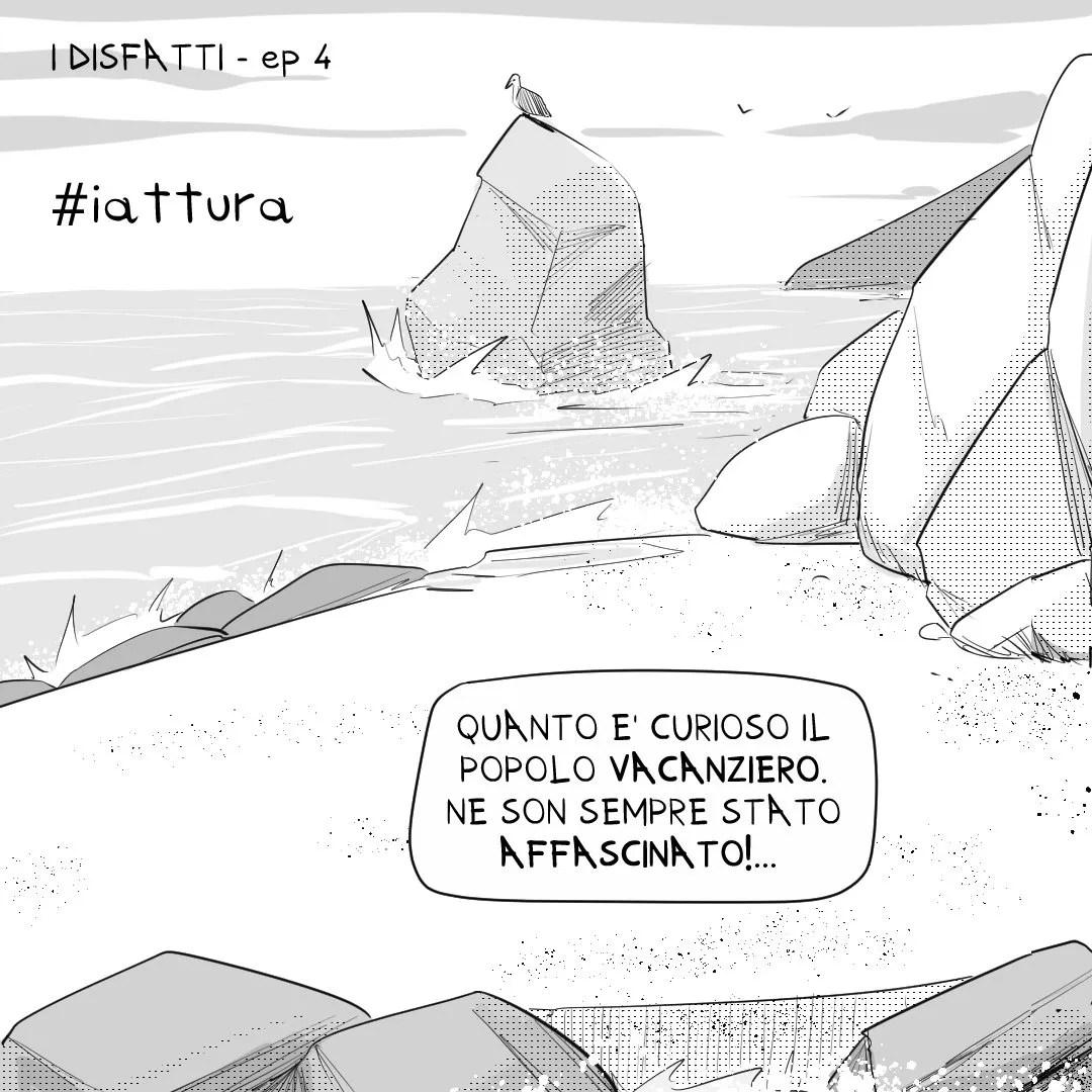 #iattura - i disfatti - dinaz.it il blog a fumetti