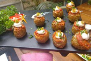 Romesco Baby Potatoes