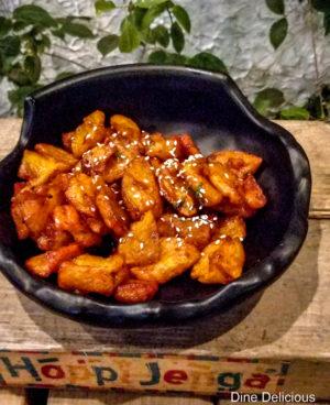 Naga Chilli Potatoes