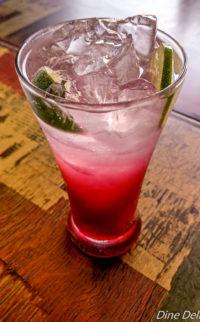 Pomegranate juice with Grenadine
