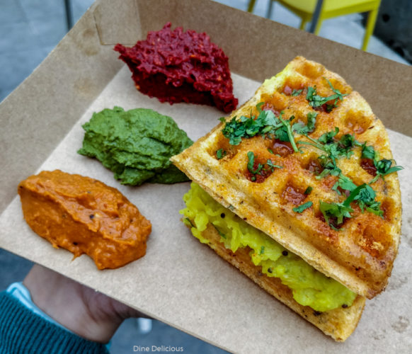 Madras Masala Dosa Waffle