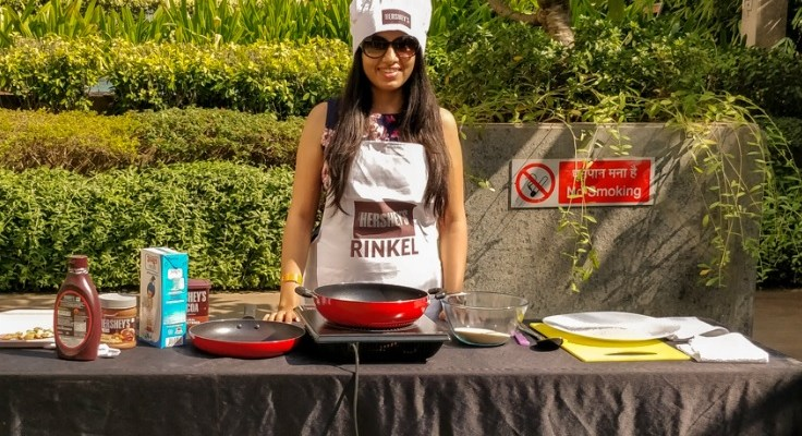 Hersheys #MeetheBahane Event with Chef Ranveer Brar