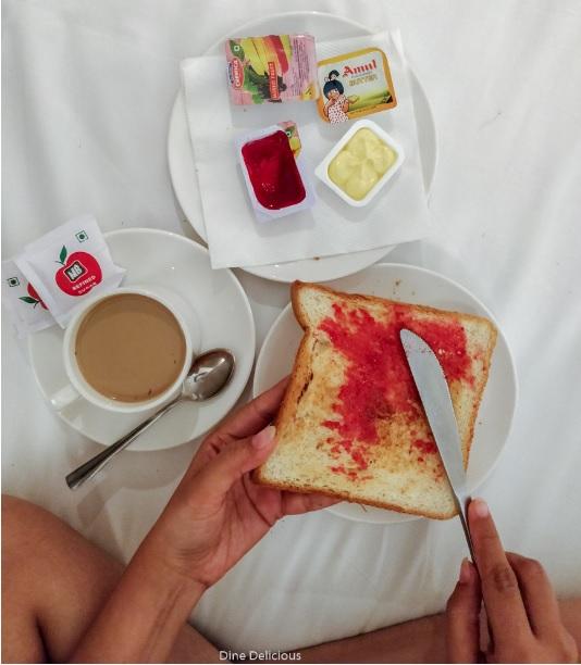 Breakfast in Bed, Staycation, Travel