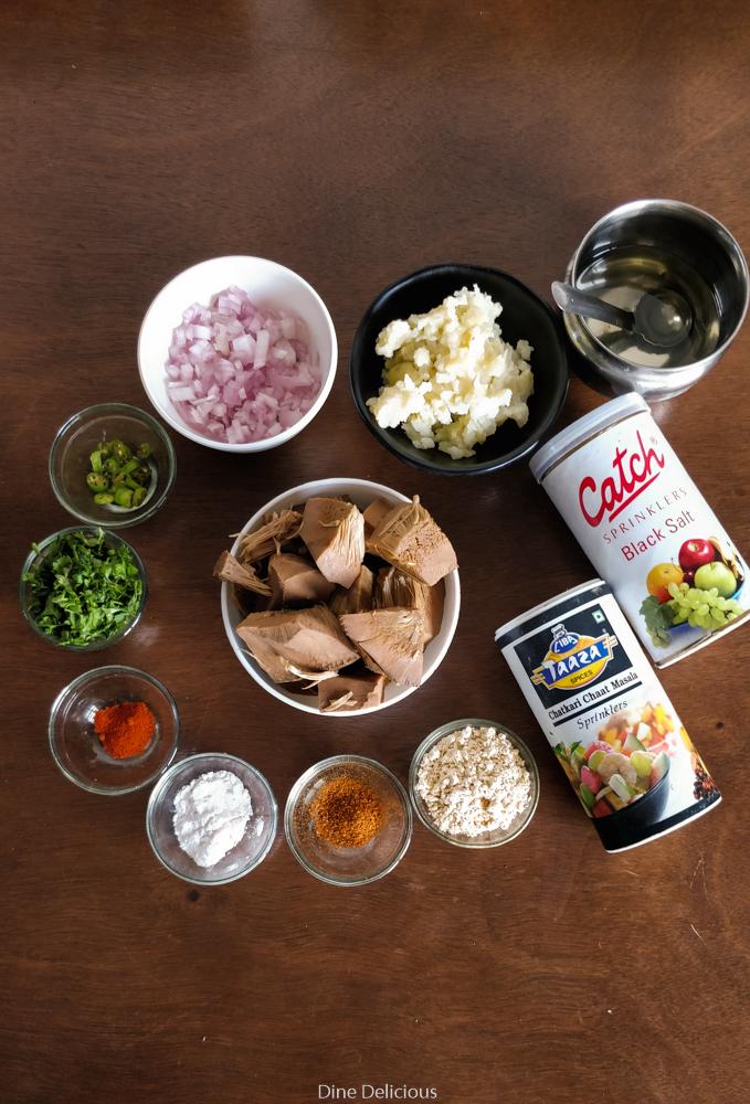 Kathal Kebab Ingredients