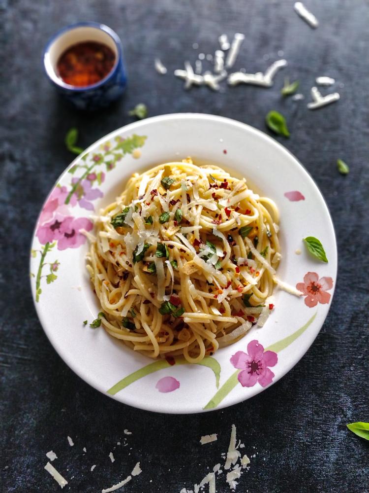 Spaghetti Aglio e Oilo