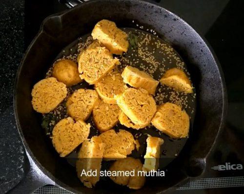 Dudhi Muthia