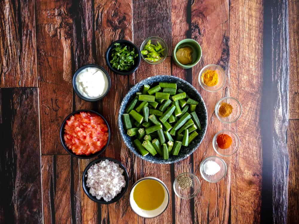 Bhindi Masala Ingredients