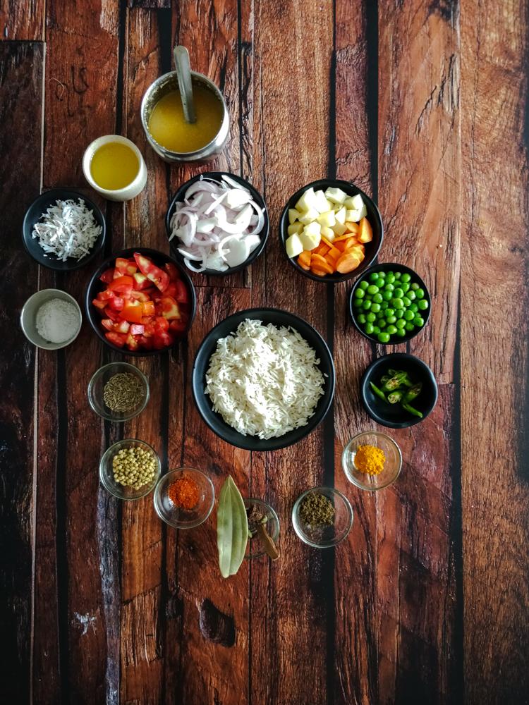 Maharashtrian Style Masala Bhaat Recipe