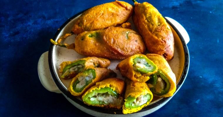 Stuffed Mirchi Bajji