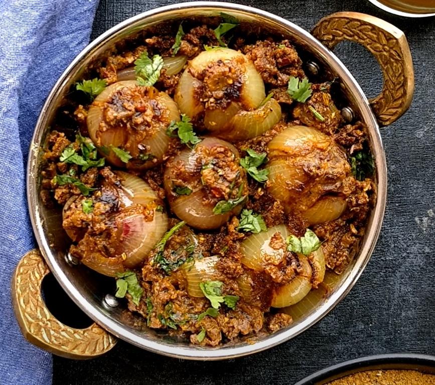 Stuffed Onion Bharwa Pyaz