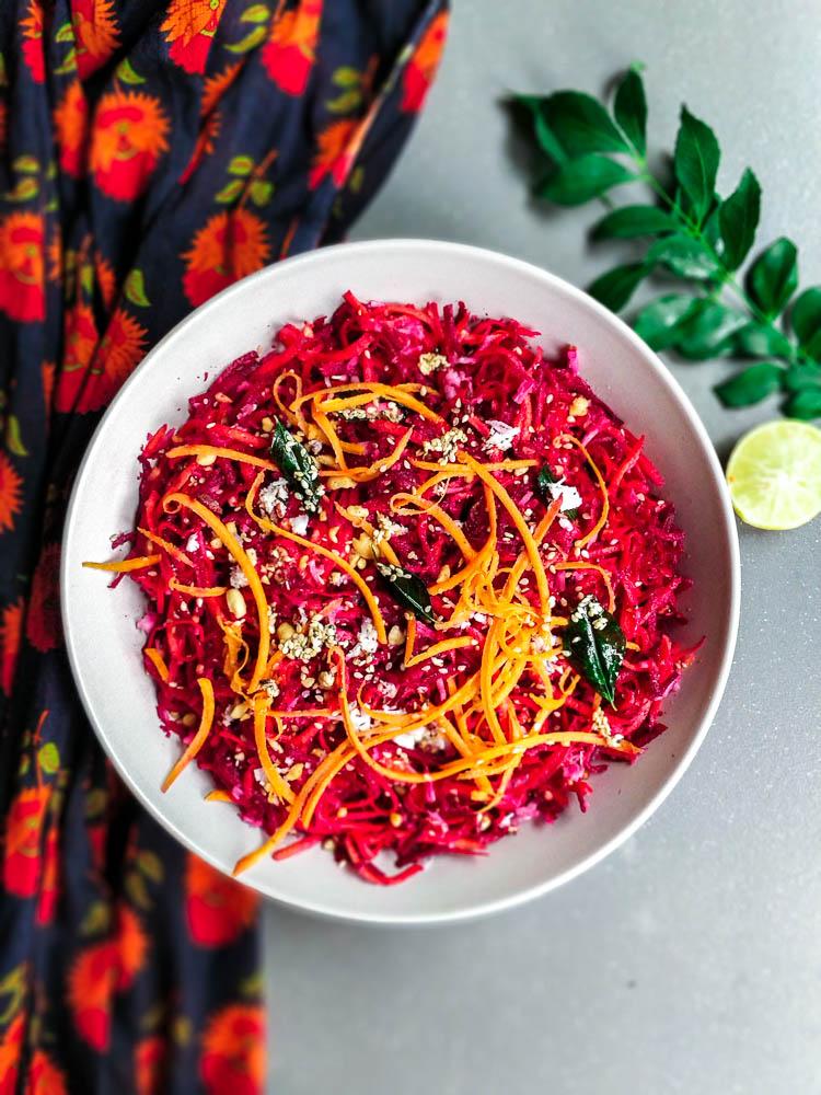 Beetroot Carrot Salad