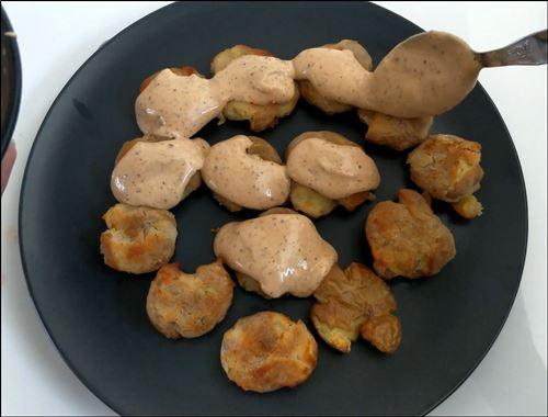 barbeque nation style potato starter