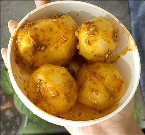 potato gravy Recipe